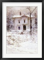 Framed Victorian Winter, 1987