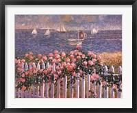 Framed Hyannis Port Roses