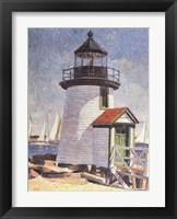 Framed Nantucket Lighthouse