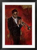 Jazz I Framed Print