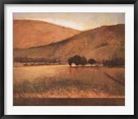 Framed Morning Meadow