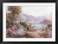 Framed Villa Melzie, Como, Italy