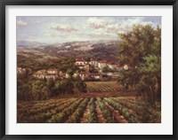 Framed Vino Bianco