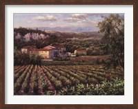 Framed Vino Rosso