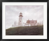 Framed Fog at Pemaquid