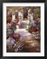 Framed Garden Urn II