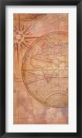 Framed Compass Chart