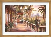 Framed Tropical Retreat II
