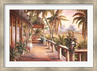 Framed Tropical Retreat II