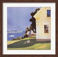 Framed Island Farmhouse, 1969