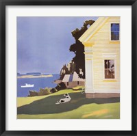 Framed Island Farmhouse, 1969