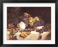 Framed Grape Leaves