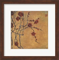 Framed Chinese Blossoms I