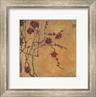 Framed Chinese Blossoms I