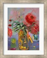 Framed Casual Roses