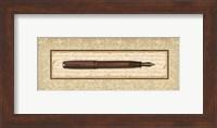 Framed Fountain Pen