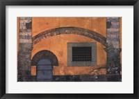 Framed Yellow Wall, Pisa, Italy