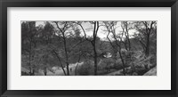 Framed Pond and Gapstow Bridge, Central Park, 1992
