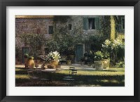 Framed Colazione Al Fresco