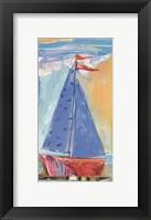 Framed Sail Away III