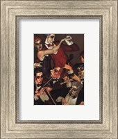 Framed Tango Red Tie