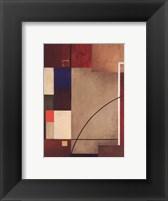 Framed Red Squares I