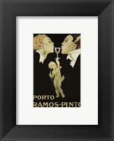 Framed Porto Ramos Pinto