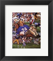 Framed Gridiron Dreams