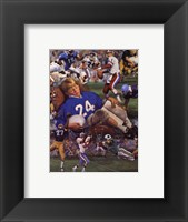 Gridiron Dreams Framed Print