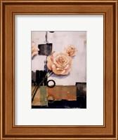 Framed Rose Silueta