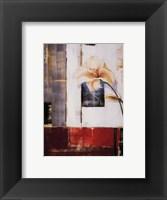 Framed Lily Silueta