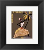 Framed Trinidad and Tobago