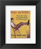 Framed Wish or Work