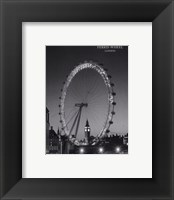 Framed Ferris Wheel, London