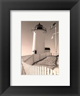 Framed Lighthouse Isle