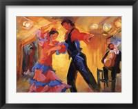 Framed La Pareja del Flamenco