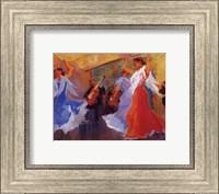 Framed La Celebracion del Baile