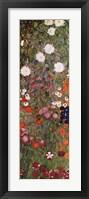 Framed Flowery Garden, c.1907 (detail) vert.