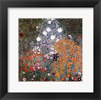 Framed Flowery Garden, c.1907
