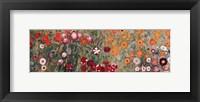Framed Flowery Garden, c.1907 (detail) horz.