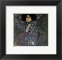 Framed Portrait of Emilie Floege, c.1902 (detail)