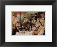 Framed Oarsmen's Breakfast