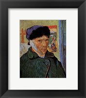 Framed Self-Portrait with Bandaged Ear, c.1889
