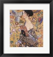 Framed Lady with Fan, c.1917