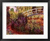 Framed Le Pont Japonais