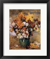 Framed CHRYSANTHEMES
