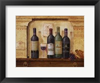 Framed Wine Gathering II