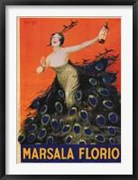 Framed Marsala Florio 1920