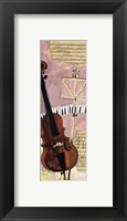 Framed Musique Triosonate III
