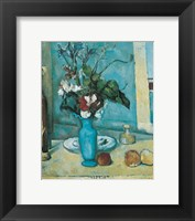 Framed Blue Vase